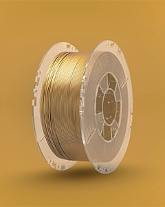 PrintMe E-HT PLA 1.75mm 0,85kg - Antique Gold